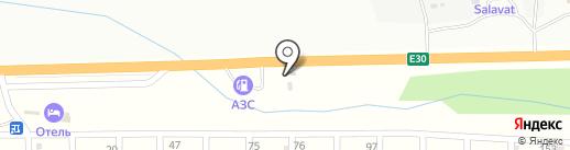 Трактир на карте Миасса