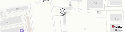 Аттила на карте Нижнего Тагила