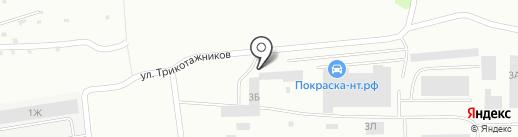 Эльмакс на карте Нижнего Тагила