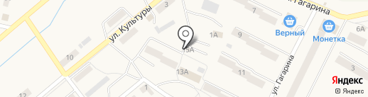 Автостоянка на карте Дегтярска