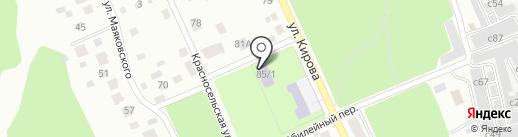 ДЮСШ №4 на карте Миасса