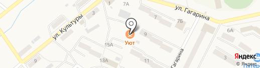 Как дома на карте Дегтярска