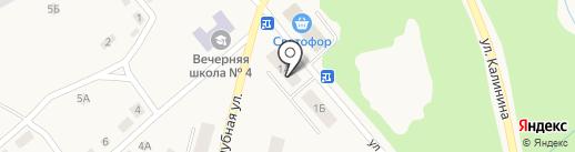 Верона на карте Дегтярска