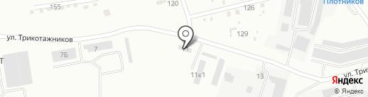 Технопарк на карте Нижнего Тагила