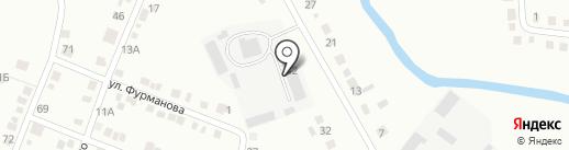 МИАССЛЕС на карте Миасса