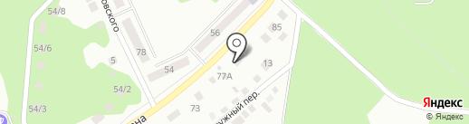 Авто-Джинн на карте Миасса
