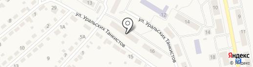 Для ВАС на карте Дегтярска