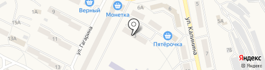 Интерра на карте Дегтярска