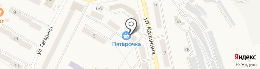 Пятерочка на карте Дегтярска