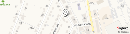 Служба заказа автобусов на карте Дегтярска