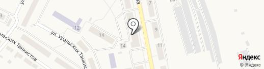 Предеина Е.А. на карте Дегтярска