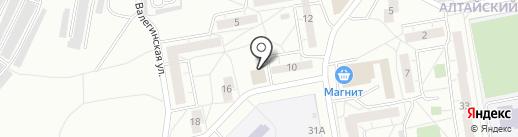 Максимум-НТ на карте Нижнего Тагила