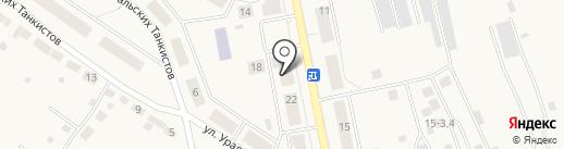Проспект на карте Дегтярска