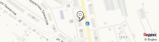 Аптека №33 на карте Дегтярска