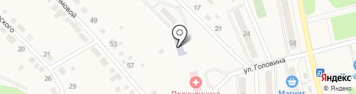 Детский сад №49, Огонек на карте Дегтярска