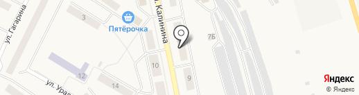 Комплексный центр социального обслуживания населения г. Дегтярска на карте Дегтярска