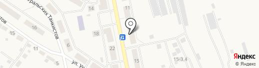 Полевской детский дом на карте Дегтярска
