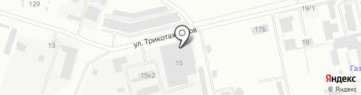 Урал, ЗАО на карте Нижнего Тагила