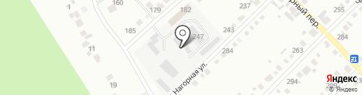 Миасское геолого-строительное предприятие на карте Миасса