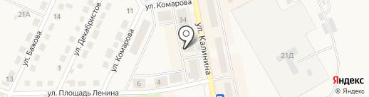 Автомагазин на карте Дегтярска