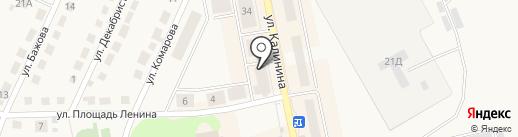 Гастроном Плюс на карте Дегтярска
