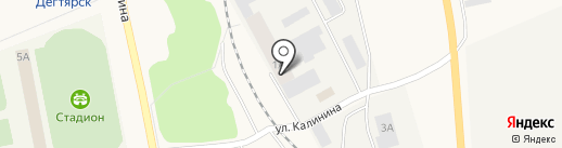 Гранд-Маркет на карте Дегтярска
