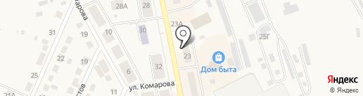 Магазин электротоваров на карте Дегтярска