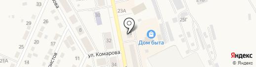 Электротовары на карте Дегтярска