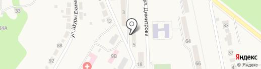 Край, ТСЖ на карте Дегтярска