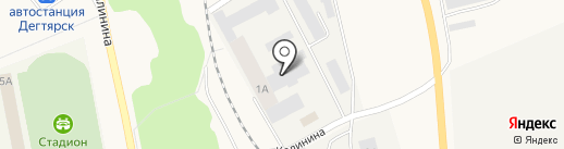 Банкомат, КБ Кольцо Урала на карте Дегтярска