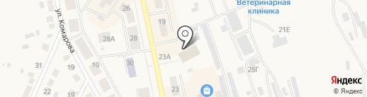 FUDJI на карте Дегтярска