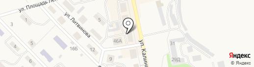 За большую Дегтярку на карте Дегтярска