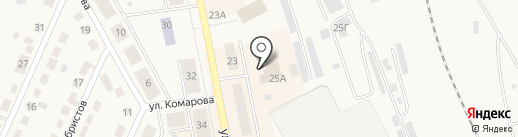 Вернисаж на карте Дегтярска