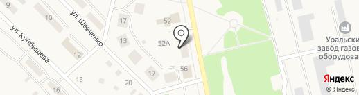 Совкомбанк на карте Дегтярска