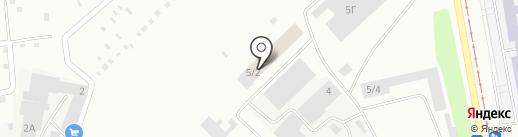 УДС на карте Нижнего Тагила