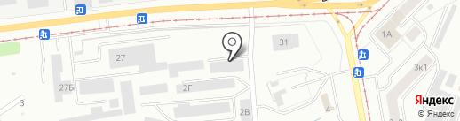 ТРАСТ-РЕСУРС на карте Нижнего Тагила