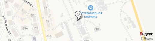 Алекс на карте Дегтярска