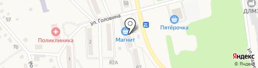Радужный на карте Дегтярска