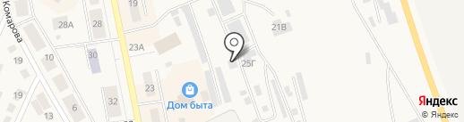 Шиномонтажная мастерская на карте Дегтярска