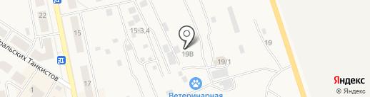 Строительный крепеж на карте Дегтярска