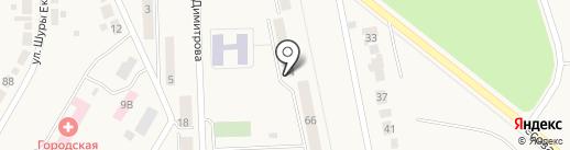 Юный техник на карте Дегтярска