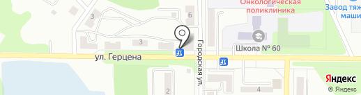 Аптечый пункт на карте Миасса