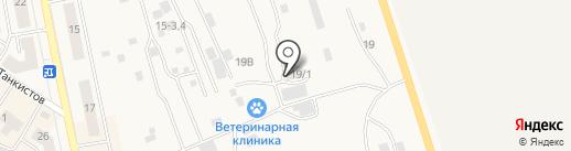 Автосервис на карте Дегтярска