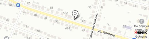 Анна на карте Миасса