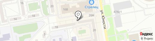 Милашка на карте Нижнего Тагила
