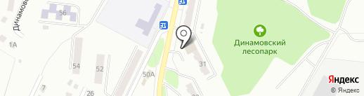Трек, ЗАО на карте Миасса