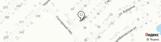 Продуктовый магазин на карте Миасса