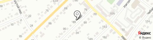 Почтовое отделение №2 на карте Миасса