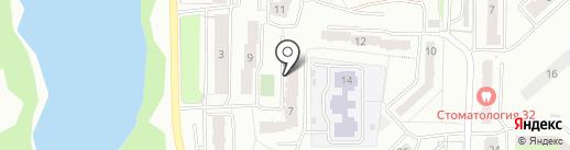 Нарион на карте Миасса