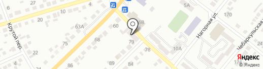 Старый город на карте Миасса